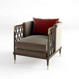 Lattice Entertain You Christopher Guy Chair 15 3dmodel 3dbrute