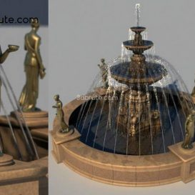 Fountain 3dmodel