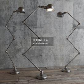 ATELIER SCISSOR TASK Floor lamp 161 3dmodel  3dsmax vray