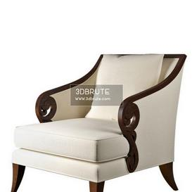 Jude M Christopher Guy Armchair 18 3dmodel 3dbrute