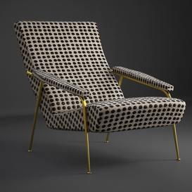 Gio Ponti Christopher Guy Armchair 19 3dmodel 3dbrute