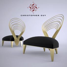 arpa seat Christopher Guy Armchair 28 3dmodel 3dbrute