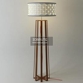 Floor lamp 166 3dmodel  3dsmax vray