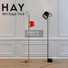 WH Rope Trick Hay Floor lamp 169 3dmodel  3dsmax vray