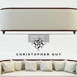 MINERVA Sofa Christopher Guy Sofa 30 3dmodel 3dbrute
