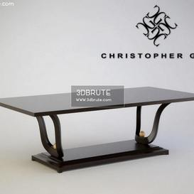 Stol 76-0103 Christopher Guy Table 2 3dmodel 3dbrute