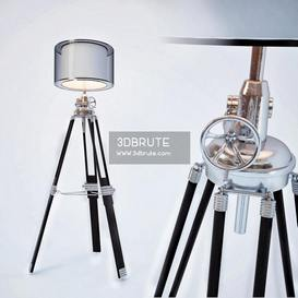 Ansel Tripod Collection Floor lamp 180 3dmodel  3dsmax vray