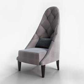 Chair Cornelia Corona Christopher Guy Armchair 43 3dmodel 3dbrute