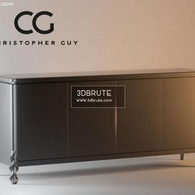 Christopher Guy Sideboard 44 3dmodel 3dbrute