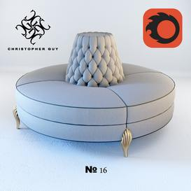 N16 Christopher Guy Sofa 47 3dmodel 3dbrute