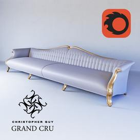 GRAND CRU Christopher Guy Sofa 48 3dmodel 3dbrute