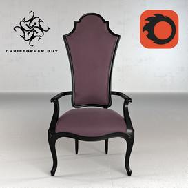 Crillon Christopher Guy Armchair 49 3dmodel 3dbrute