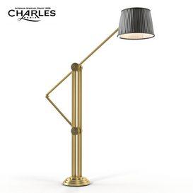 Charles Paris Propylees  L 400xH2050 Floor lamp 186 3dmodel  3dsmax vray