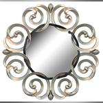 contemporary scrolls mirror Christopher Guy Mirror 51
