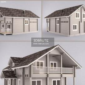 Cottage 3dmodel 3dsmax