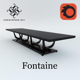 Guy FONTAINE Christopher Guy Table 53 3dmodel 3dbrute