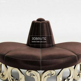 Champignon 60-0407 Christopher Guy other soft seating 55 3dmodel 3dbrute