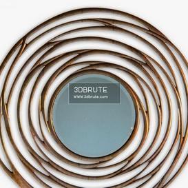 Cercle Social corona Christopher Guy Mirror 59 3dmodel 3dbrute