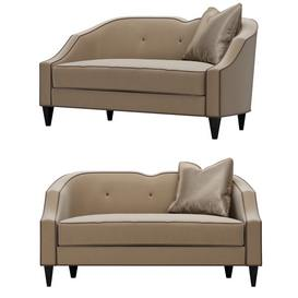 Debutante Christopher Guy Sofa 74 3dmodel 3dbrute