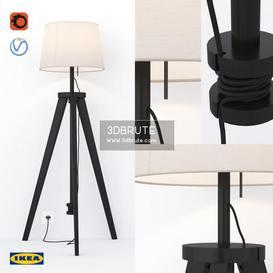 Ikea Lauters Corona Floor Lamp 197 3dmodel