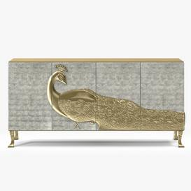 Koket Camilia Cabinet Christopher Guy Sideboard 87 3dmodel 3dbrute