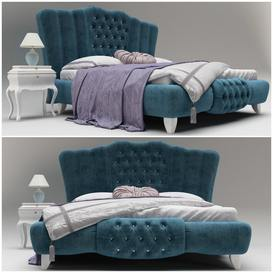 New Romantic Christopher Guy Bed 92 3dmodel 3dbrute