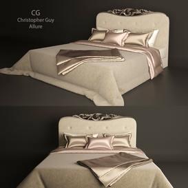 Allure Christopher Guy Bed 102 3dmodel 3dbrute