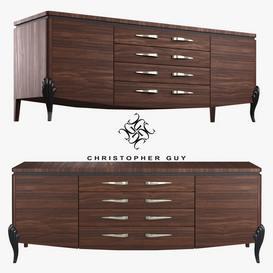Cabinet Rivoli Christopher Guy Sideboard 111 3dmodel 3dbrute