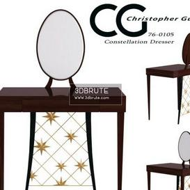 Constellation Dresser Christopher Guy Table 114 3dmodel 3dbrute