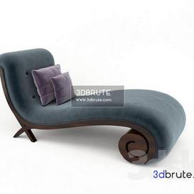 Chaise longue 60-0107 Christopher Guy other soft seating 9 3dmodel 3dbrute