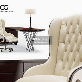 The Chairman CG   corona Christopher Guy Chair 118 3dmodel 3dbrute