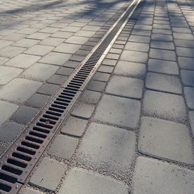 rain drainage & paving corona 3dmodel 3dsmax