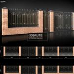 wrought iron gates for 3d saites   gate 72