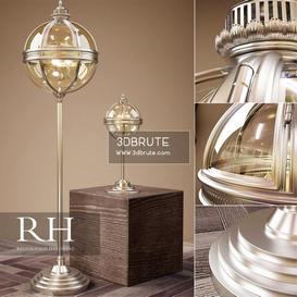 Rh Victorian Hotel Ligts Floor Lamp 207 3dmodel
