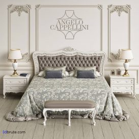 bed classic 3dmodel 3