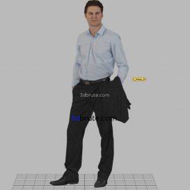 Man -male 3dmodel 3dsmax