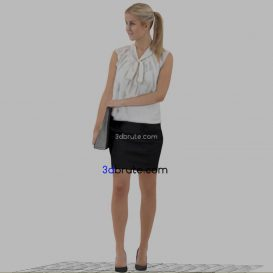 Woman-Female 3dmodel 3dsmax