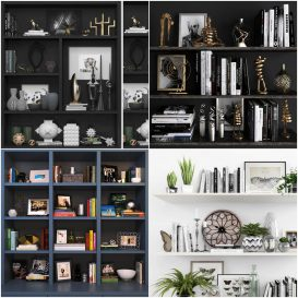 Sell Decorative set vol1 2018 3model 3dsmax