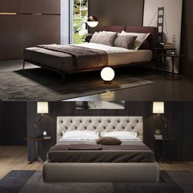 Sell Bed set 2018 3dsmax