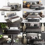 Sell Bed vol3 2018 set 3dmodel