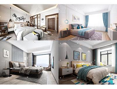 . Sell Modern bedroom set 2019 3dsmax   Download  3d Models Free  3dbrute