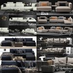 Sell super sofa vol1 2018 set 3dmodel