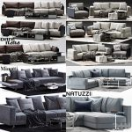Sell super sofa vol2 2018 set 3dmodel