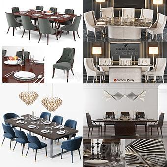 Sell super table & chair vol1 2018 3dbrute