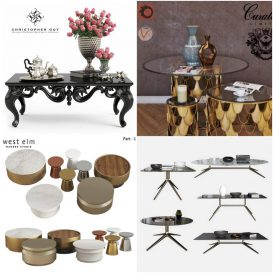 Sell Table vol1 set 2018 3dsmax