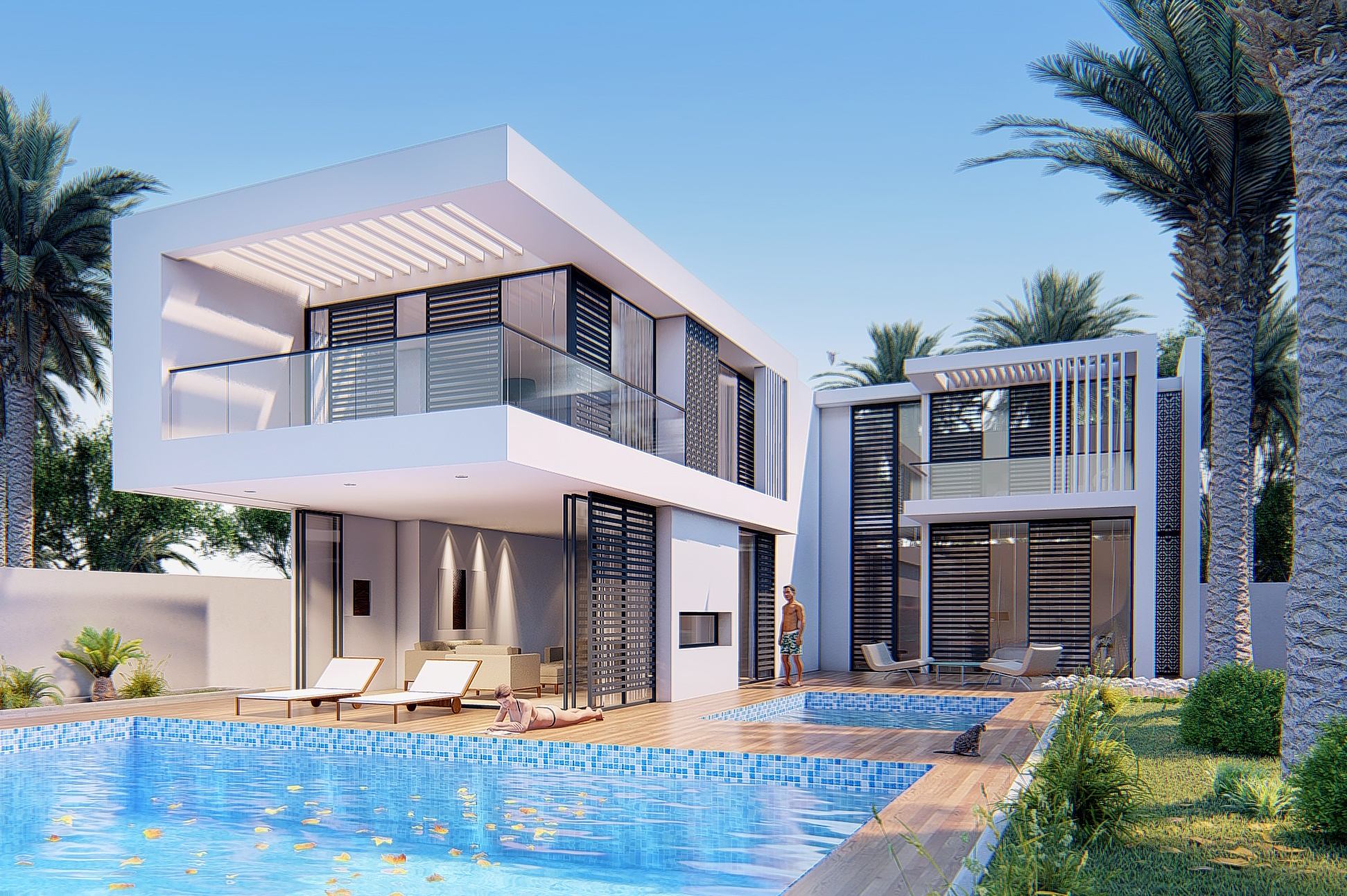 Lumion tutorial render Villa from file 3dsmax