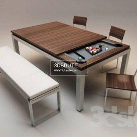 Billiard table download 3dmodel free 3dbrute 14