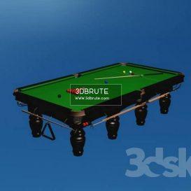 Billiard table download 3dmodel free 3dbrute 17
