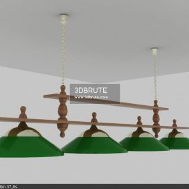 Billiard lamp download 3dmodel free 3dbrute 19