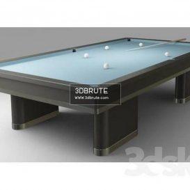 Billiard table download 3dmodel free 3dbrute 20